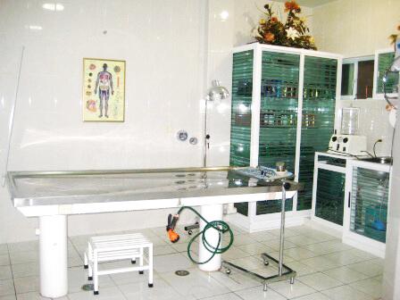 Funerales Casval laboratorio